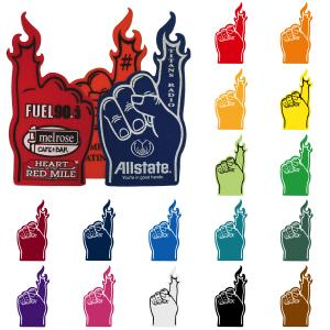 "18"" #1 Flame Finger Foam Hand"