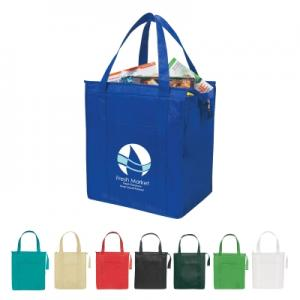 Keeps Food Hot or Cold  Insulated Shopper Tote Bag