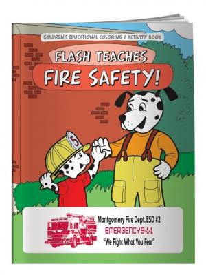 """""""Fire Safety!"""" Coloring Book"""
