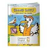 """Summer Safety"" Coloring Book"