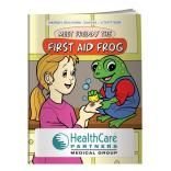 """First Aid Frog"" Coloring Book"