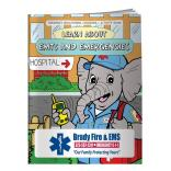 """Learn About EMTs And Emergencies"" Coloring Book"
