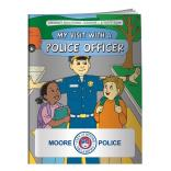 """My Visit With A Police Officer"" Coloring Book"