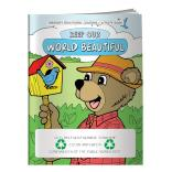 """Keep Our World Beautiful"" Coloring Book"