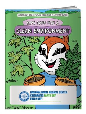 """Clean Environment"" Coloring Book"