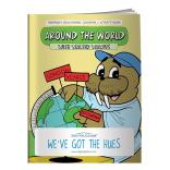 """Around The World"" Coloring Book"