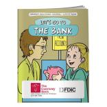 """Let's Go To The Bank"" Coloring Book"