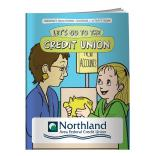 """Let's Go To The Credit Union"" Coloring Book"