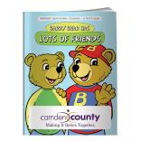 """Barry Bear Has Lots Of Friends"" Coloring Book"