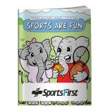 """Sports Are Fun"" Coloring Book"