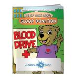"""Blood Donation"" Coloring Book"