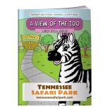 """A View Of The Zoo"" Coloring Book"