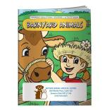 """Barnyard Animals"" Coloring Book"