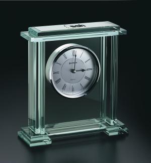 Jade Recognition Award Clock
