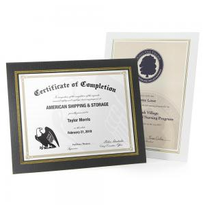 Economical Easel Certificate Frame