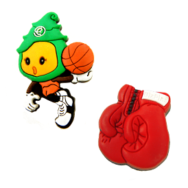 3D Soft Rubber Lapel Pin