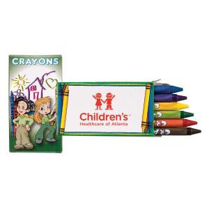 6 Pack Crayon Box