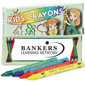 4 Pack Washable Crayons
