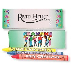 3 Pk. Kids Crayons