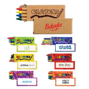 4 Pk. Deluxe Kids Crayons