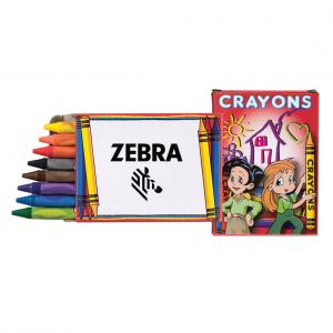 8 Pack Crazy Crayons