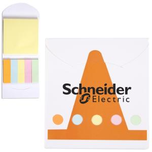 Construction Cone Sticky Note Memo Book