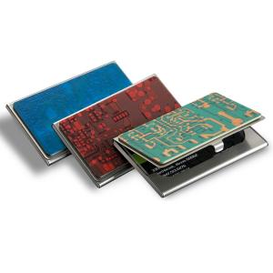 Recycled Circuit Board Card Case