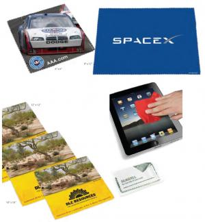 IPad & Lap Top Micro Opper Fiber Cleaning Cloth Full Color