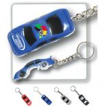 Race Car Shaped Bottle Opener Key Chain