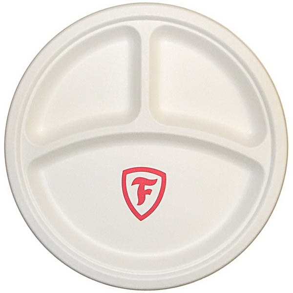 3 Compartment Paper Plate