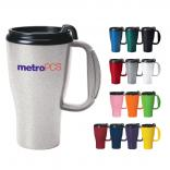 16 Oz. Omega Grip Plastic Travel Mug
