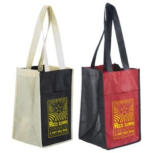 4 Bottle Wine Bag Carrier