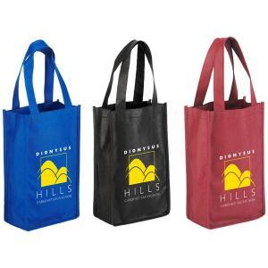 Portable 2-Bottle Wine Bag