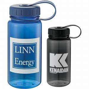 18 oz. Ice Cube Friendly BPA Free Water Bottle