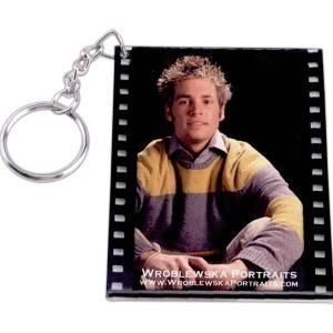 Film Strip Photo Frame Key Tag