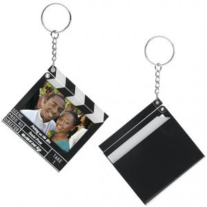 Clapboard Snap In Frame Key Tag