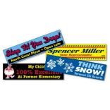 "3"" x 11.5"" Bumper Sticker"
