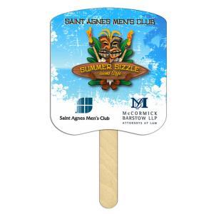 Bread Slice Shaped Mini or Seed Stick Fan