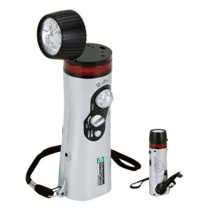 Survival Flashlight Radio with Siren