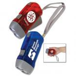 Small No Battery Hand Powered Flashlight