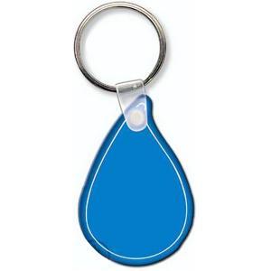 Water Drop Shaped Key Tag