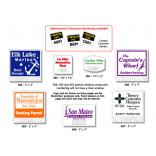 Windshield Parking Permit Decals (Adhesive)