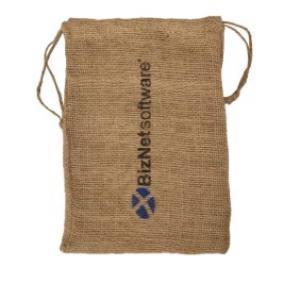 """8"""" x 12"""" Low Price Burlap Drawstring Bag"""