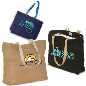 Eco-Green Jute Tote Bag