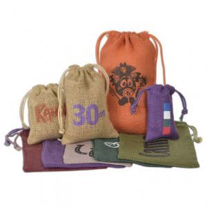 "3"" x 5"" Jute/Burlap Drawstring Bag"