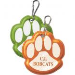 Paw Print Shaped Zipper Pull