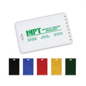 Handy Credit Card Sized Ice Scraper