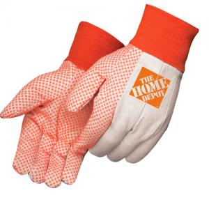 10 oz. PVC Dotted Canvas Work Gloves
