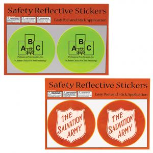 Advertising Safety Reflective Stickers