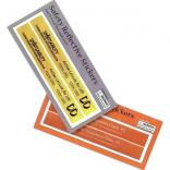 Advertising Rectangle Shaped Reflective Stickers